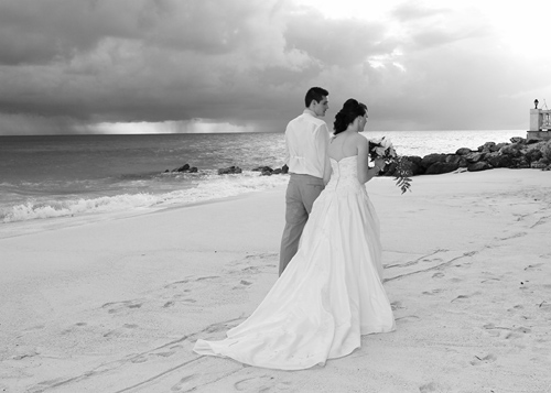 Our Wedding at Turtle Beach